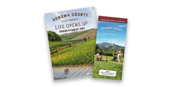 Get Your Free Sonoma County Visitors Map